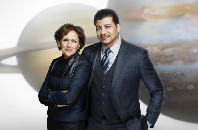 Ann Druyan and Neil deGrasse Tyson