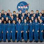 Equipe de astronautas em 1996.