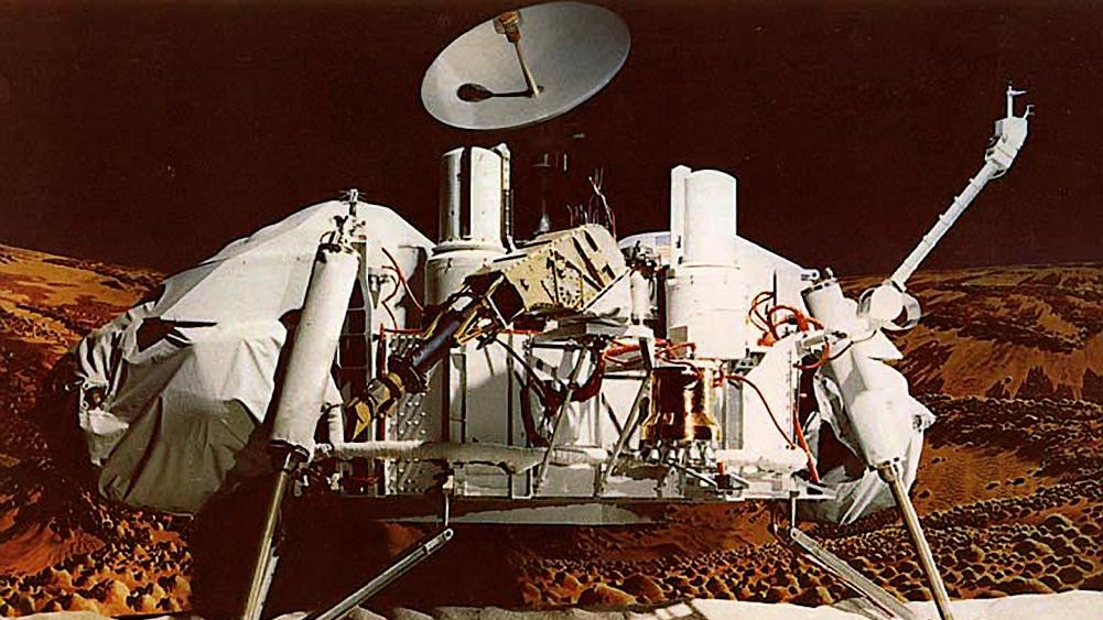 Essa tecnologia foi usada pela primeira vez em uma queda de pára-quedas que ajudou a pousar a sonda Viking Lander em Marte em 1976.