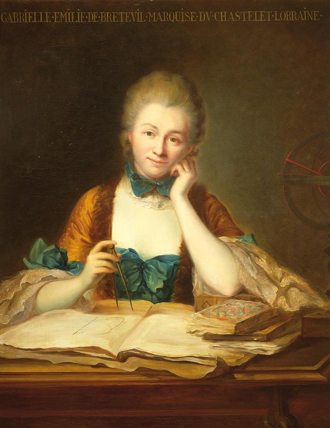 Resultado de imagem para Émilie du Châtelet