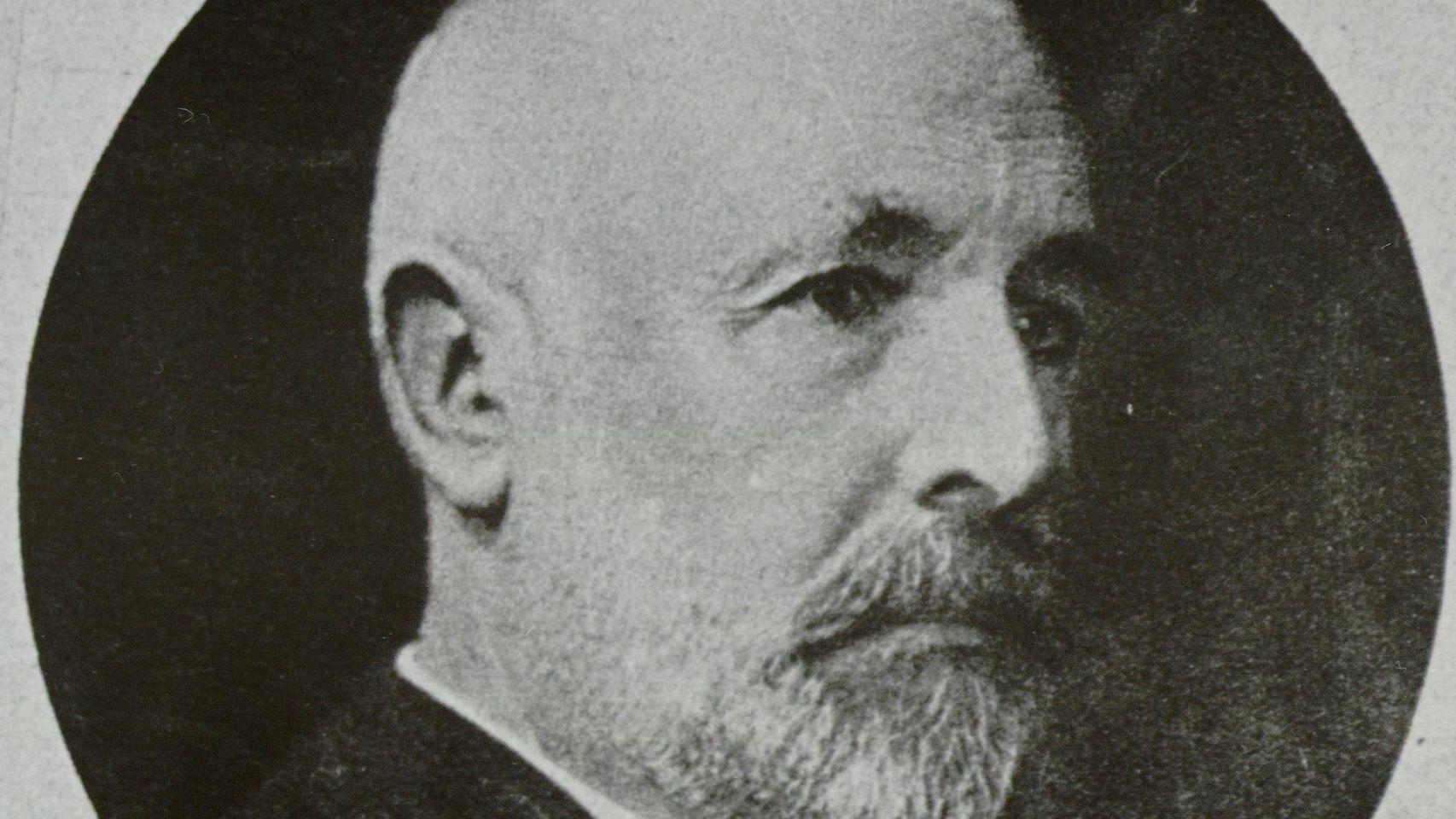 O matemático russo Georg Cantor.