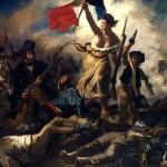 A Liberdade Guiando o Povo. Eugène Delacroix (1830)