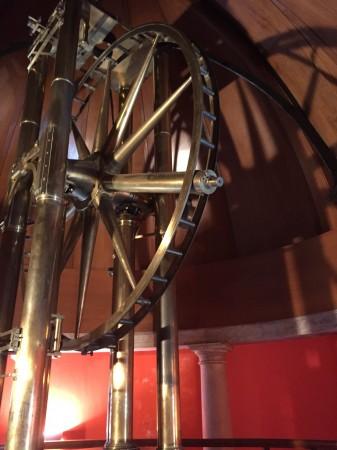 Giuseppe Piazzi usou este instrumento, chamado de Círculo Ramsden, para descobrir Ceres em 1 de Janeiro de 1801. O telescópio está em exposição no Observatório de Palermo, na Sicília. Créditos: NASA / JPL-Caltech / Palermo Observatory.