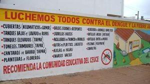Campanha com informações para prevenção de febre amarela e dengue no Paraguai (Pablo flores)