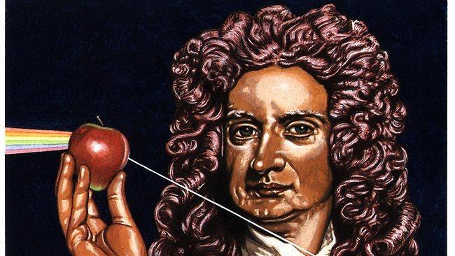 Isaac e a maçã
