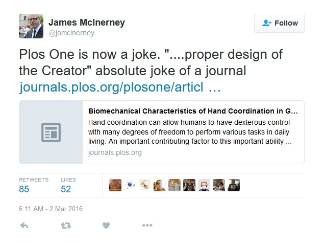 Twitter de James McInerney