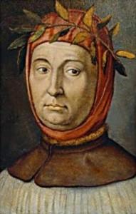 Retrato de Petrarca, onde o Canzoniere pode ser ligado ao ciclo limite.