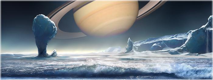 NASA faz uma incrível revelação sobre a lua Encélado, de Saturno