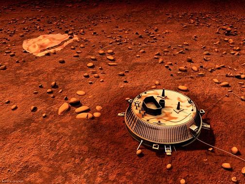 titan-saturn-huygens-landing-site
