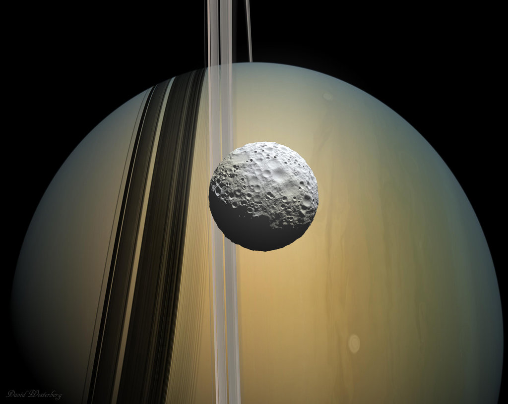 mimas_and_saturn_by_pineapple_insurance-d7202qd